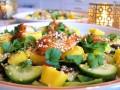 sałatka z owocami morza przepis video, jak zrobić sałatkę z owocami morza